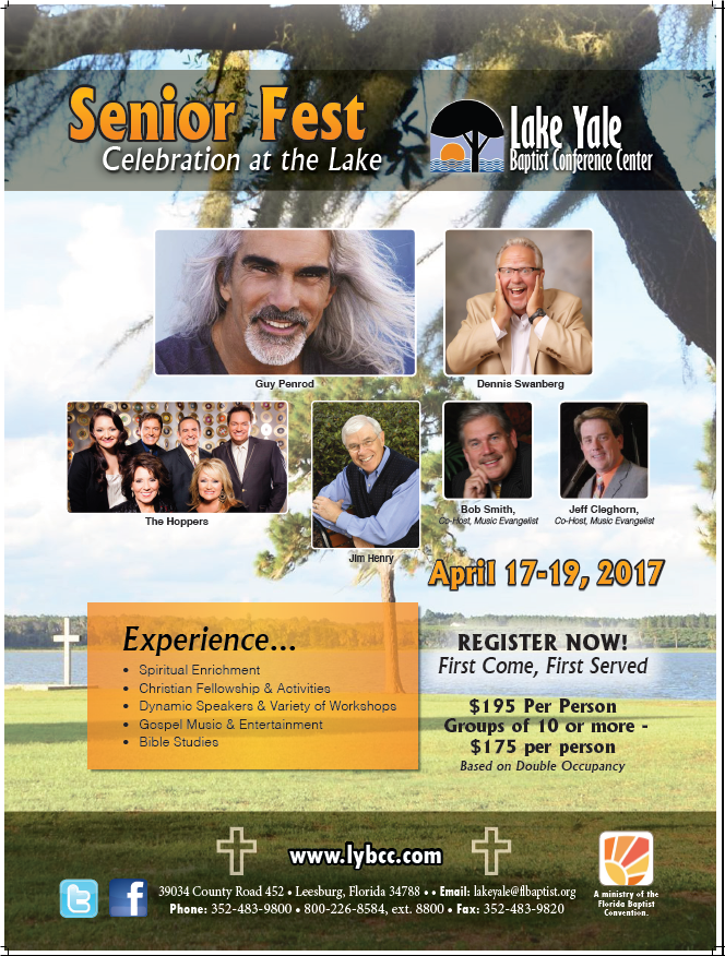 2017 Senior Fest Flyer Apr. 17-19,2017