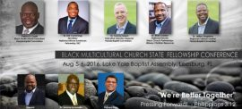 Black Multicultural Church State Fellowship Conference